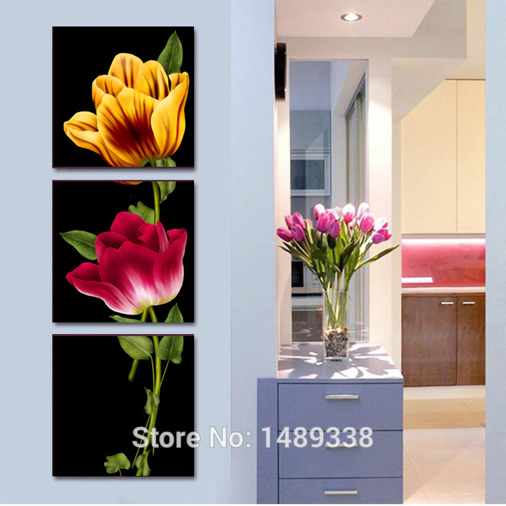 Online Buy Wholesale flowers artwork from China flowers artwork