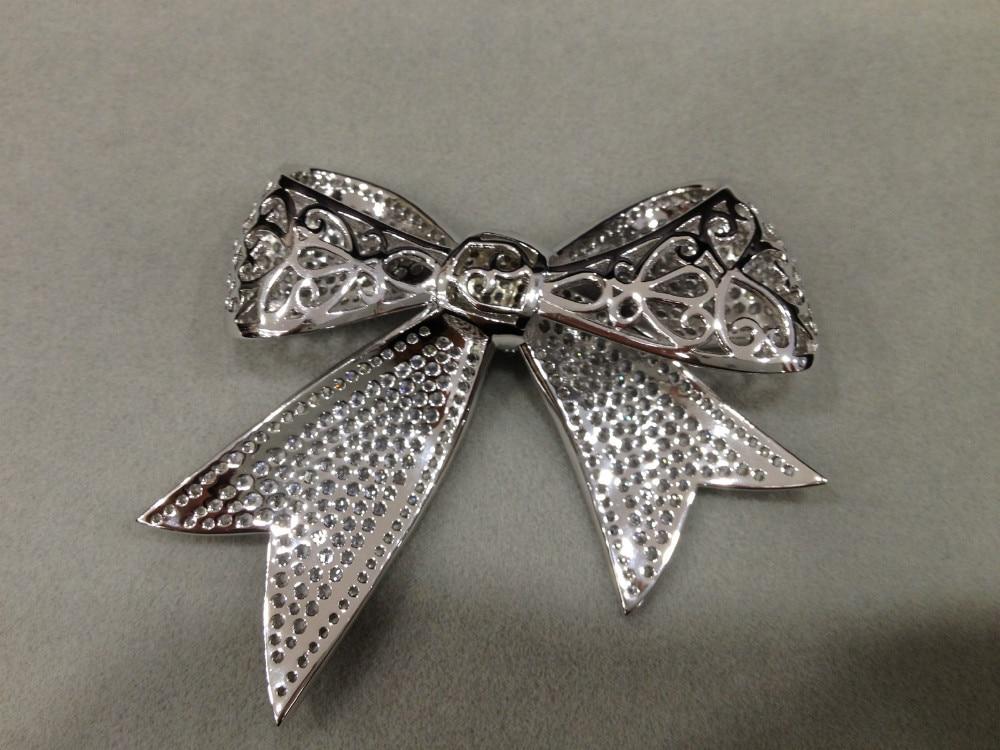 Strik sieraden accessoires diy 925 sterling zilver met zirkoon gratis verzending - 2