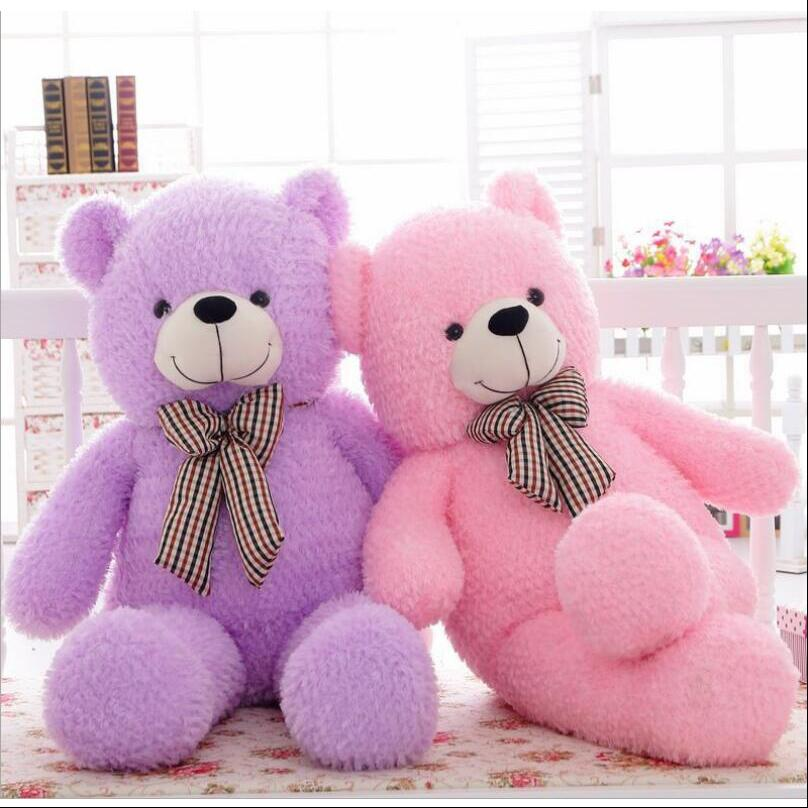 100cm Giant Big Size Teddy Bear Kawaii Plush Toys Peluches Stuffed Animal  Girls Toys Birthday Present Christmas Gift giant teddy bear plush soft toys doll bear sleep girls gifts birthday kawaii large teddy bear stuffed animal plush toy 70c0426