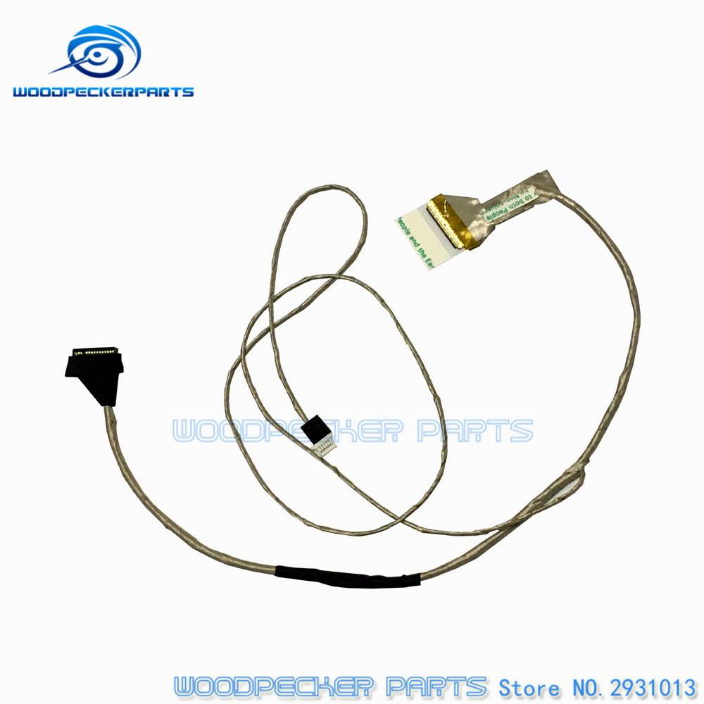 New Led Lcd Screen Video Berlin Lvds Cable For Toshiba Satellite G7 Wiring Diagram C650 C655 C655d Flex Ribbon Connector P N 6017b0265501 In Computer Cables Connectors