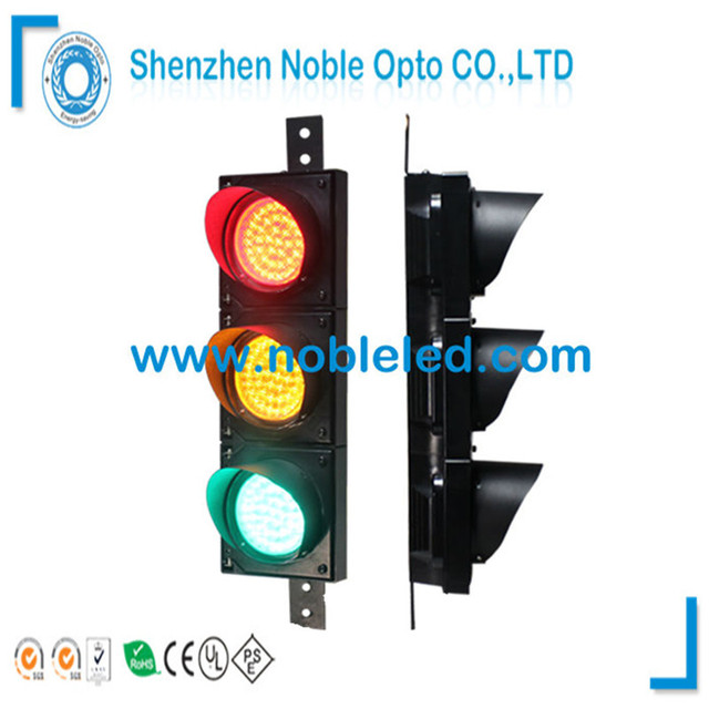 high quality 4 inches cobweb lens led traffic semaphore light in