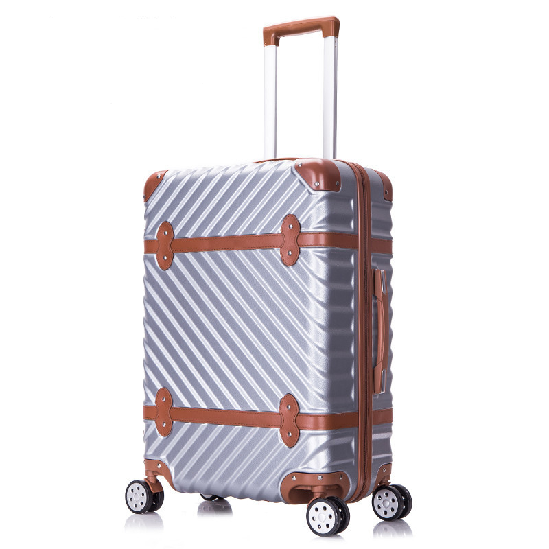 New Fashion!22inches retro abs pc wave strap hardside case trolley luggage for men and women,lovely life travel luggage on wheelNew Fashion!22inches retro abs pc wave strap hardside case trolley luggage for men and women,lovely life travel luggage on wheel