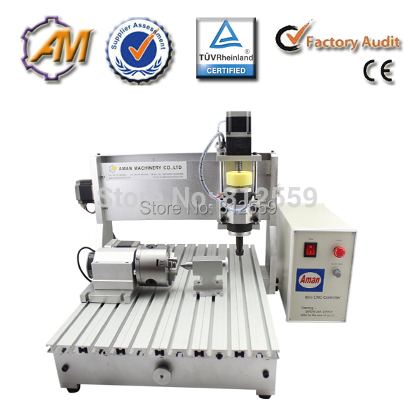 cheap cnc vertical wood 3d milling machine cnc router wood milling machine cnc 3040z vfd800w 3axis usb for wood working with ball screw