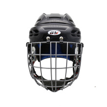 GY Youth Hockey Helmets & Face Mask Combos Steel Shield Equipment with High Impact Resistant Breathable and Soft Liner 098-C