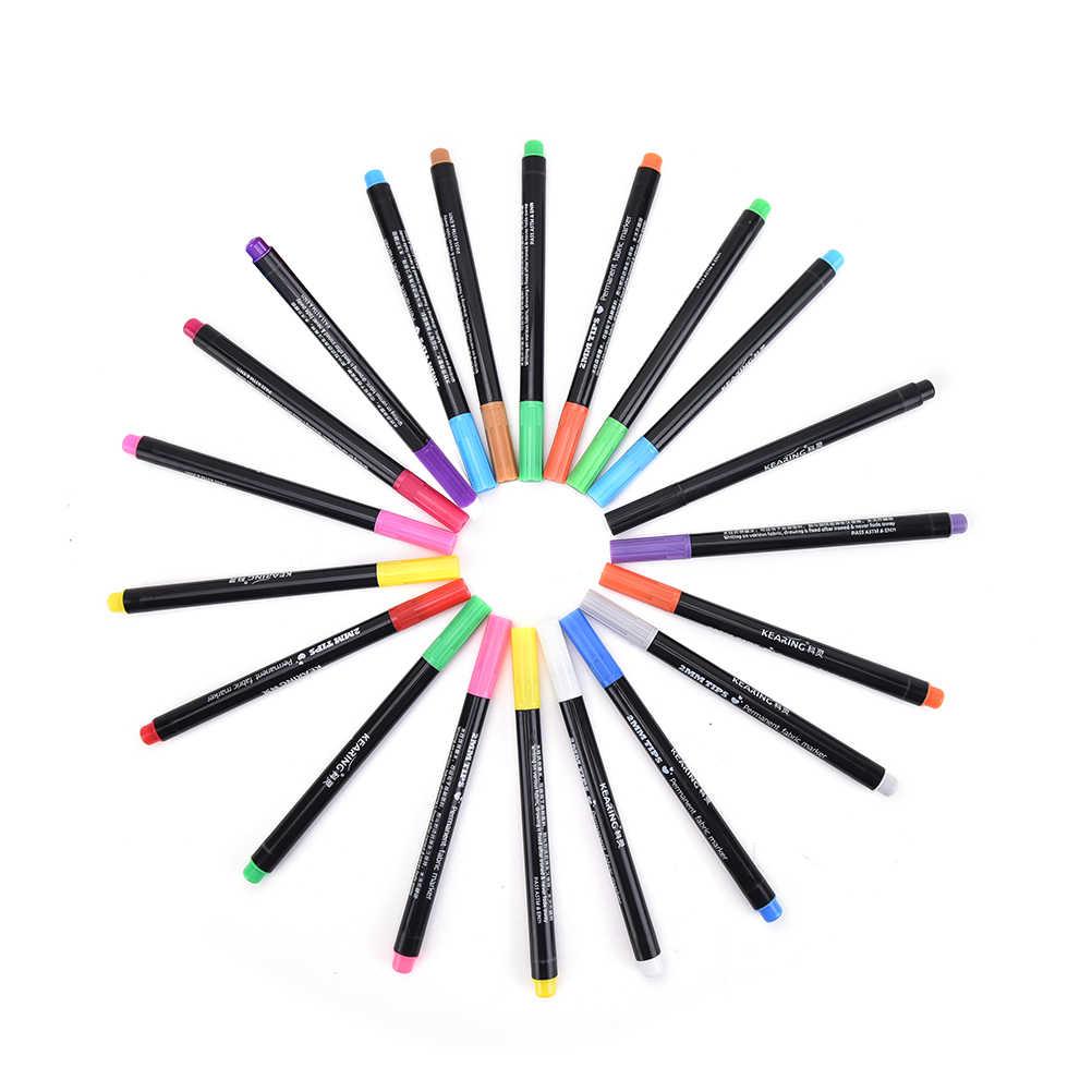 1 PC テキスタイルペイント布生地と Tシャツライナーマーカーペン顔料 DIY 塗装用品