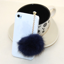 Dachshund Promotion Earphone Jack Plug 2016 New Rabbit Fur Dust Plug
