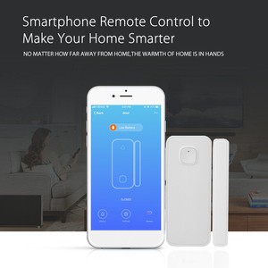 Image 4 - Wifi sensor de porta de entrada aberta alerta detector de segurança em casa controle remoto alexa casa do google