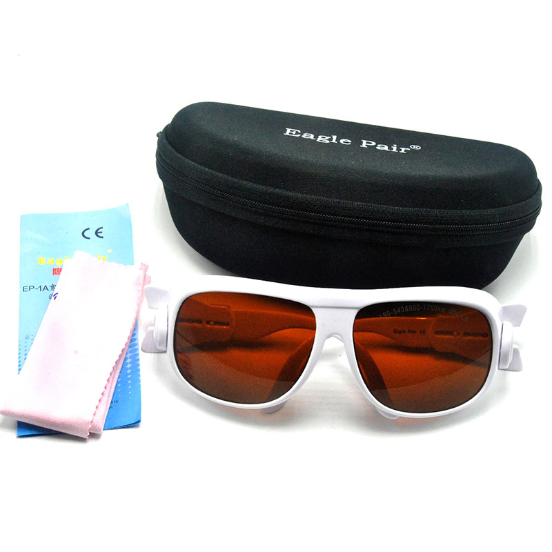 OD4+ 190nm-540nm 800nm-2000nm Laser Protective Goggles Safety Glasses Eyewear CE EP-1A