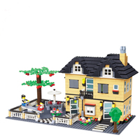 Education Building Class 816 Pcs3d Building Model Plastic Puzzle Toys For Children Free Shipping