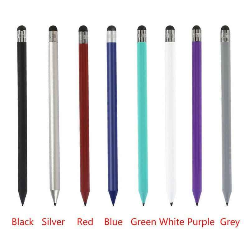 الرجعية مستديرة رقيقة تلميح قلم شاشة اللمس قلم مستدق الطرف بالسعة القلم استبدال لباد آيفون الهواتف المحمولة اللوحي الملحقات