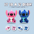 Cartoon Stitch note USB Flash Drive High Speed USB2.0 PenDrive  Creative Pen Drive Gift USB Memory Stick 32GB 16GB 8GB 4GB