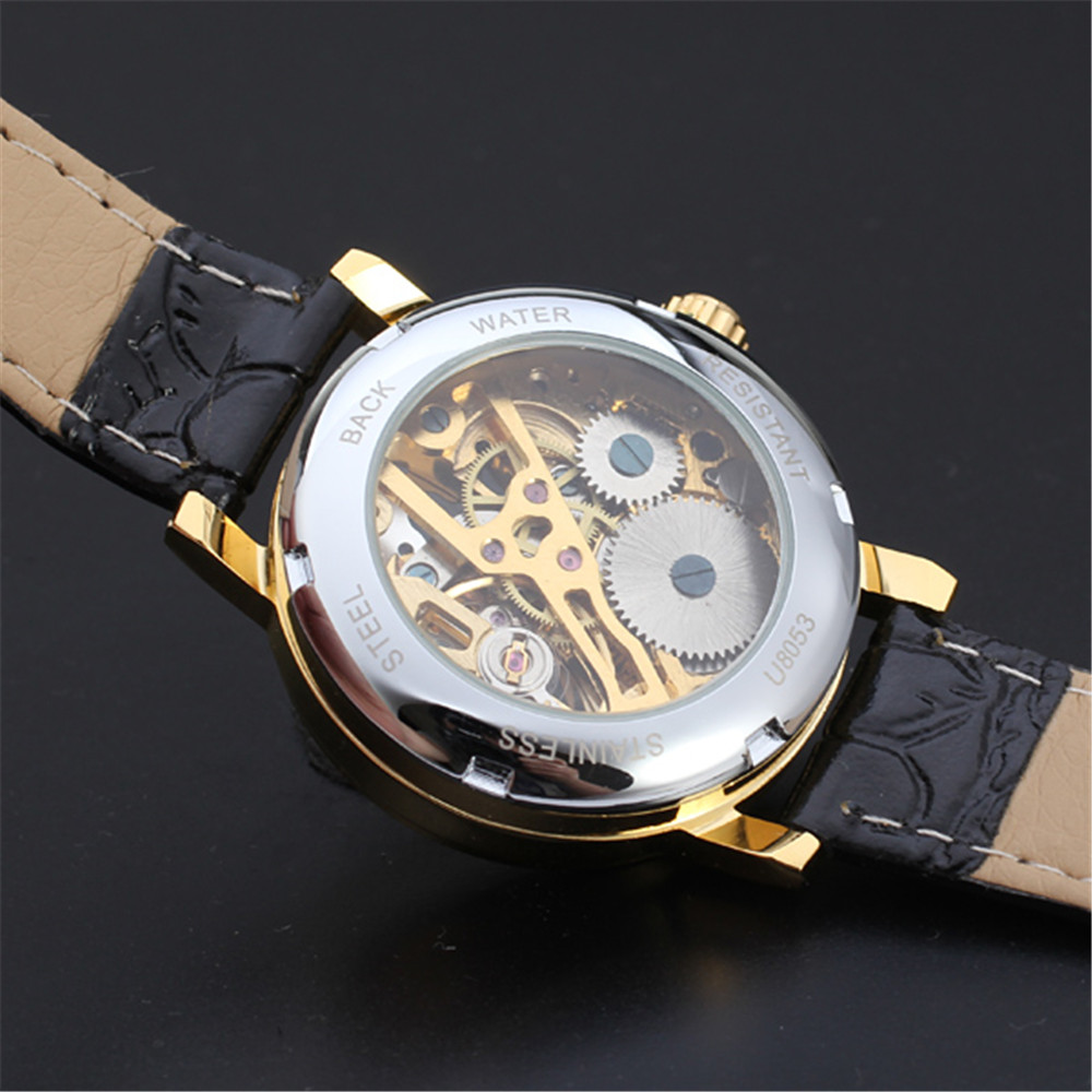 mechanical skeleton chrome royal hunter watch pocket watches mount double mens image plated