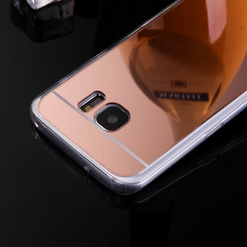 Mirror Case Soft TPU Back Cover For Samsung Galaxy J1 J5 J7 A3 A5 A7 2017 J3 2016 S3 S4 S5 S6 Edge Plus Grand Prime Phone Cases