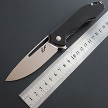 New Arrival EF66 pocket knife D2 Steel blade G10 handle ball bearing folding hunting camping Dagger outdoor EDC Tool
