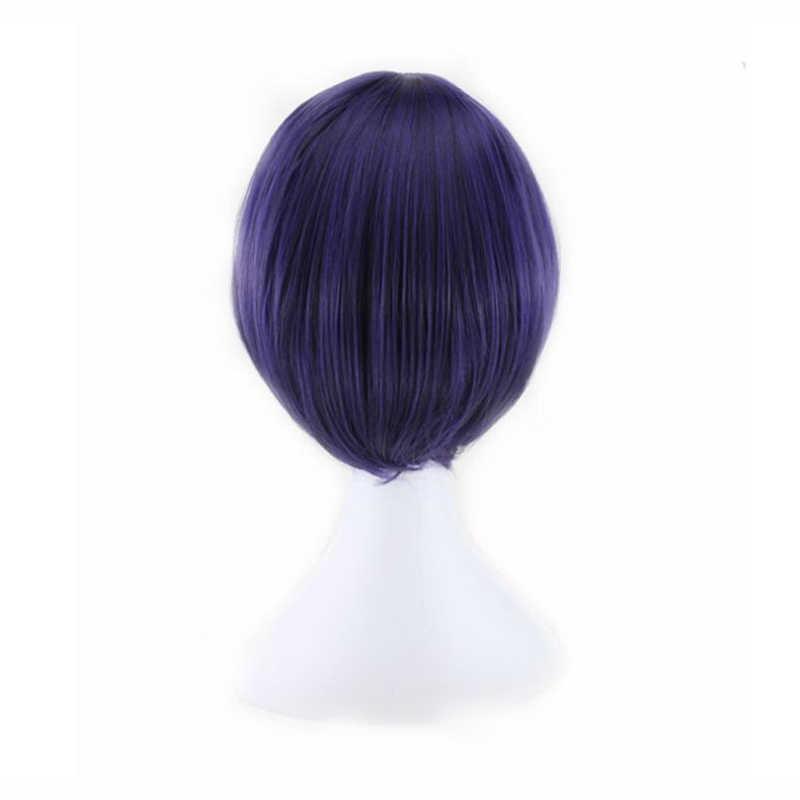 Тоука киришима, парик для косплея, костюм Кирисима тока, женские короткие синтетические волосы на Хэллоуин + парик, Кепка