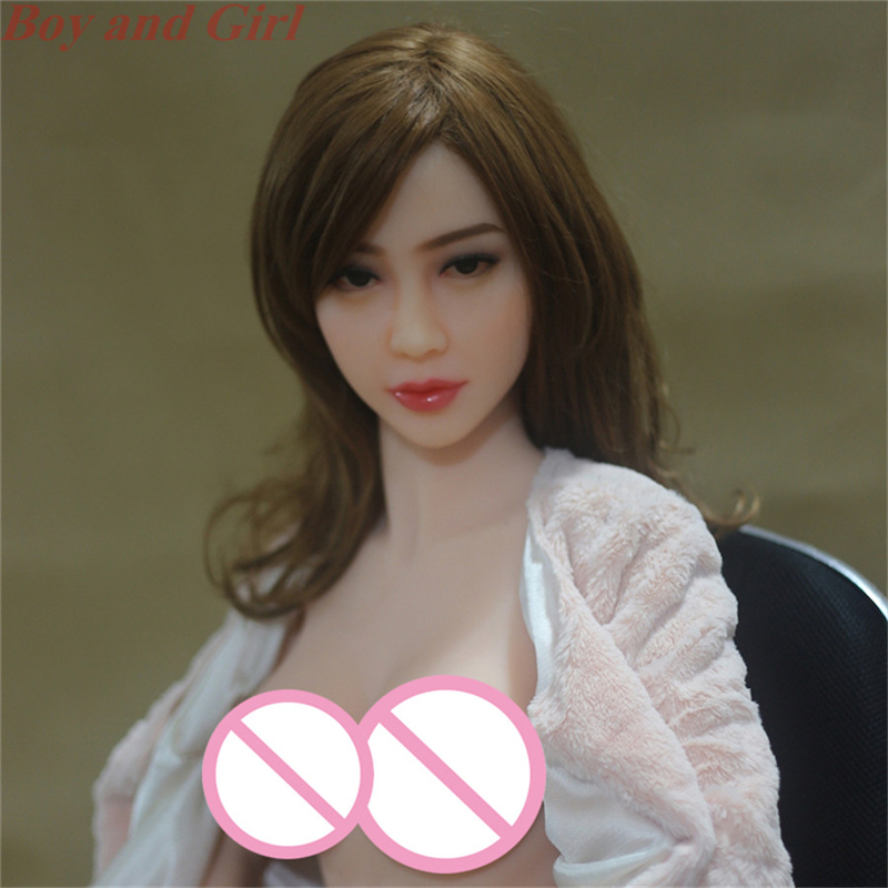 <font><b>2017</b></font> New Solid Real Silicone 140cm Love <font><b>Doll</b></font> With Metal Skeleton Life Size Female <font><b>Sex</b></font> Toy For Men Big Boobs Vagina Oral <font><b>Sex</b></font> <font><b>Doll</b></font> image