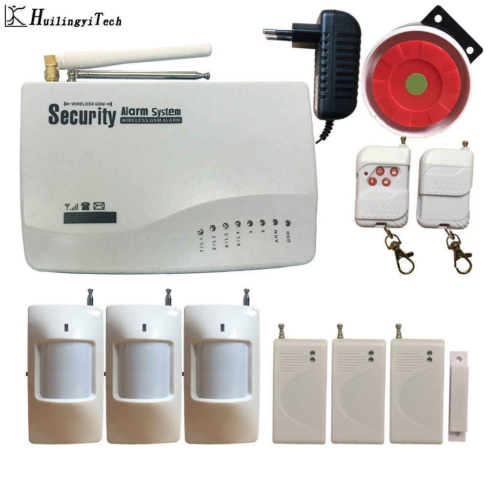 Wireless GSM Alarm System Antenna Alarm Systems Security Home Wireless Signal 850/900/1800/1900MHz Support Russian/English