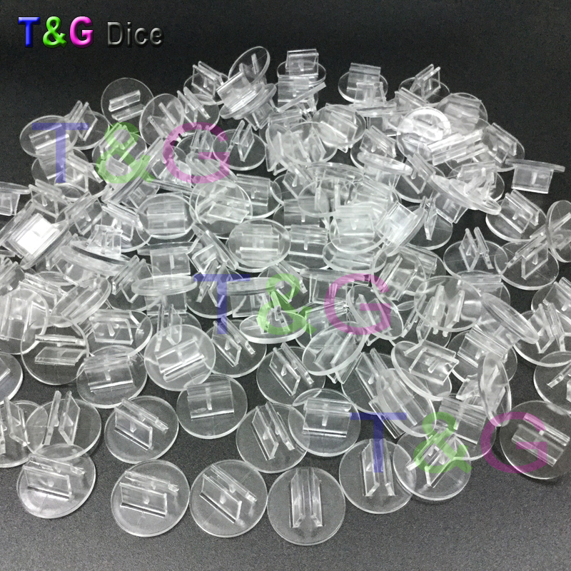 NEW High Quality Transparent Plastic Stand For 2mm Paper Card, Board Game Components