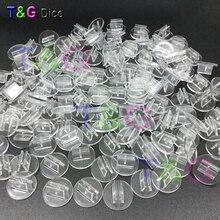 Новая прозрачная пластиковая подставка высокого качества для бумажной карты 2 мм, компоненты для настольной игры