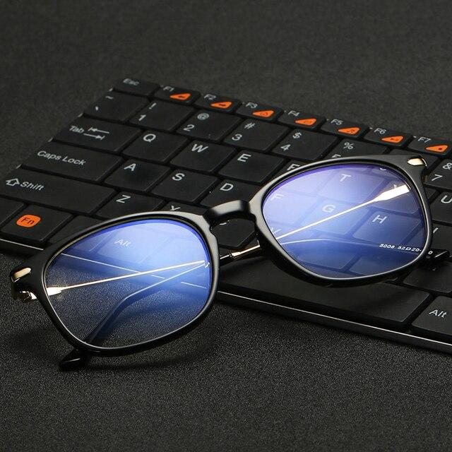 VCKA Марка TR90 Анти Синий Свет Очки Для Чтения Очки Защита Очки Titanium Frame Компьютерные Игры Очки Для Женщин Мужчин