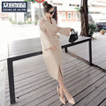 Thin Coat Of Female 2017 New Spring Coat Female Slim Slim Lace Long Sleeved Autumn Korean England