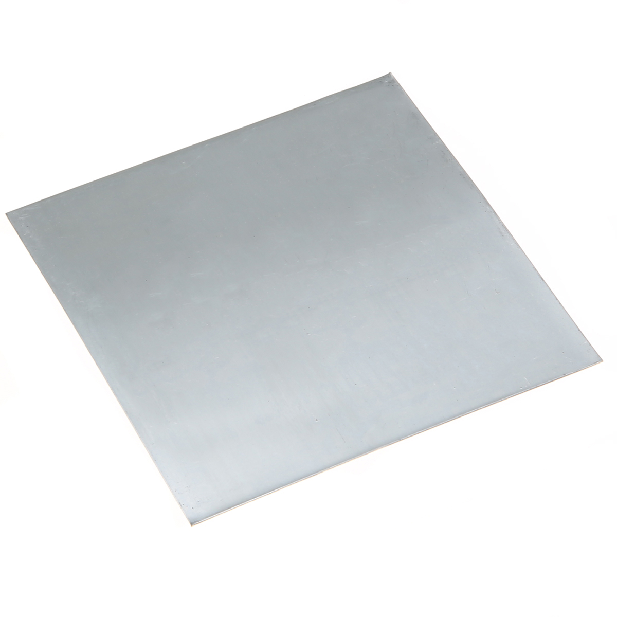 1Pcs  Zinc Plate 99.9% Pure Zinc Zn Sheet Plate 100mmx100mmx0.2mm For Science Lab Accessories