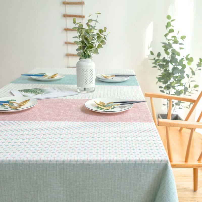 Kitchen Waterproof Table Cloth Tablecloth Rectangular Tablecloths Pastoral Dining Table Cover Obrus Tafelkleed mantel mesa nappe