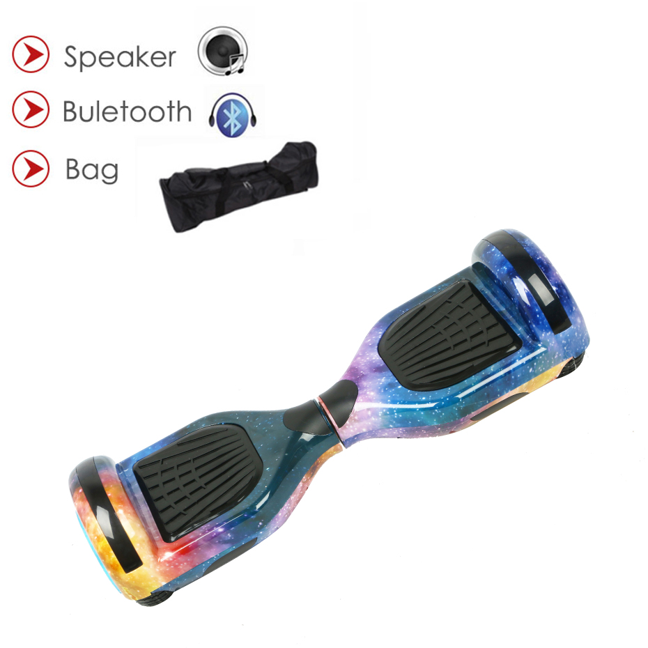 Auto Équilibre Electrico Scooter Hoverboard Planches À Roulettes Coup Gyroscooter Smart Hover conseils Par-Dessus Bord Oxboard Équilibrage Conseils