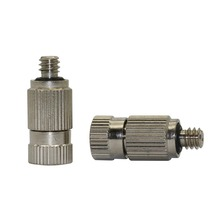 3/16 Male Thread Mist Nozzles High Pressure Anti Drip Fogging Sprinklers Garden Agriculture Cooling Humidify Fittings 50 pcs