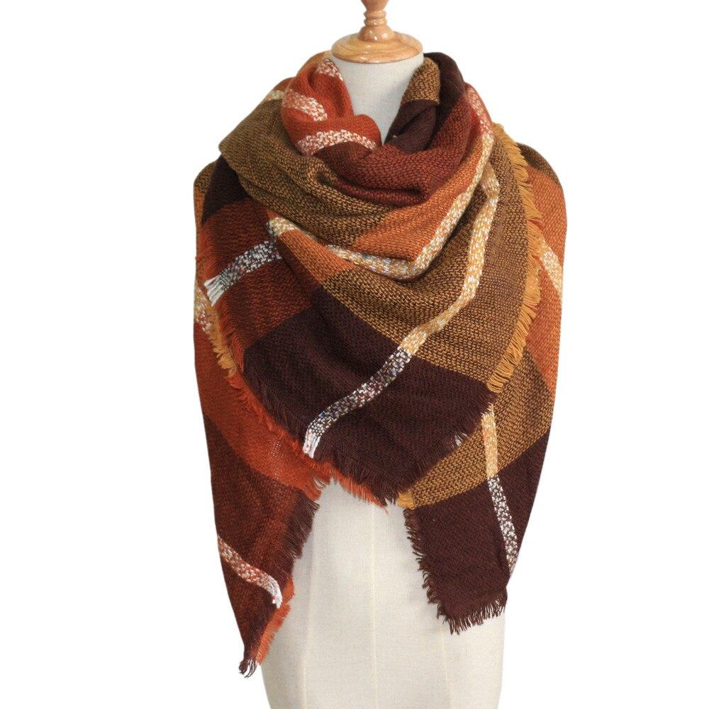 Shawl Scarf Wrap-Collar Warm-Wrap Fashion Women's Lady Cachecol Stylish Long Soft A9