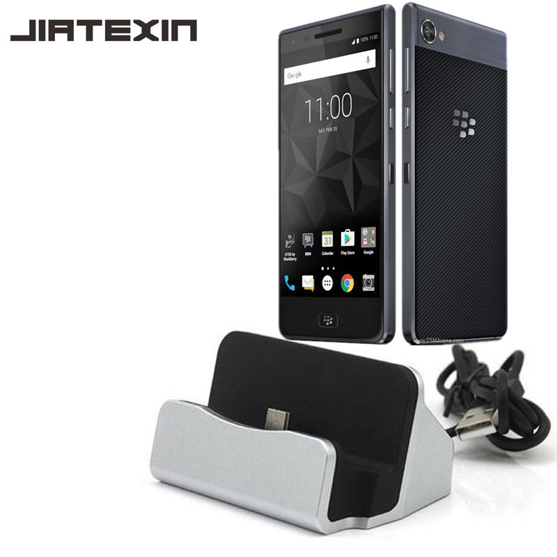 JIATEXIN Desktop Data Sync Type-C USB Cable Dock Charger Station For BlackBerry Motion Type-C USB C Charging Dock Adapter