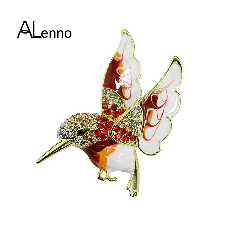 4d1e0712c0 Detail Feedback Questions about Vintage Alloy Rhinestone Hummingbird ...