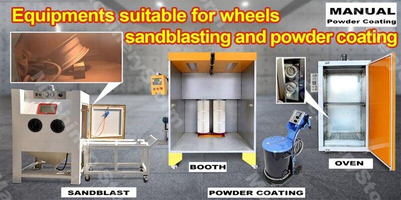 2018 Universal Manual electrostatic powder coating sprayer for powder machine