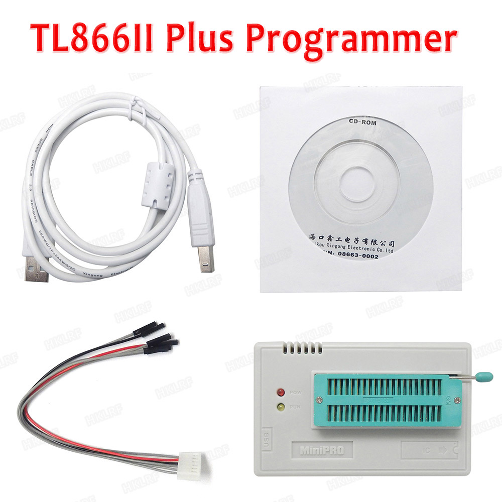 Image 4 - XGECU 100% Original Minipro TL866ii Plus + 12 Adapters EEPROM Universal Bios USB programmer better than TL866A TL866CS-in Integrated Circuits from Electronic Components & Supplies