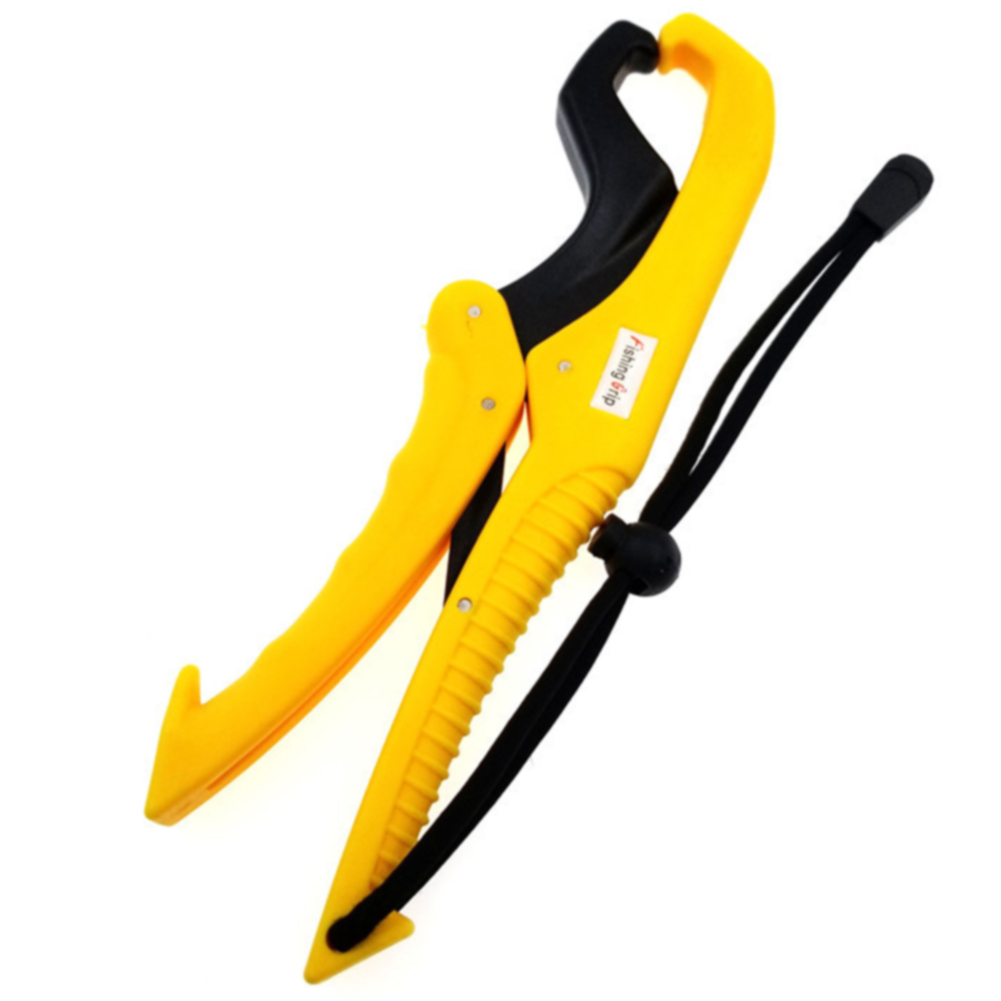 6 Inches Solid Plastic Non-Slip Fishing Plier Portable Floating Locking Lip Grip Lightweight Easy Use Strong Grabber Jaw Design