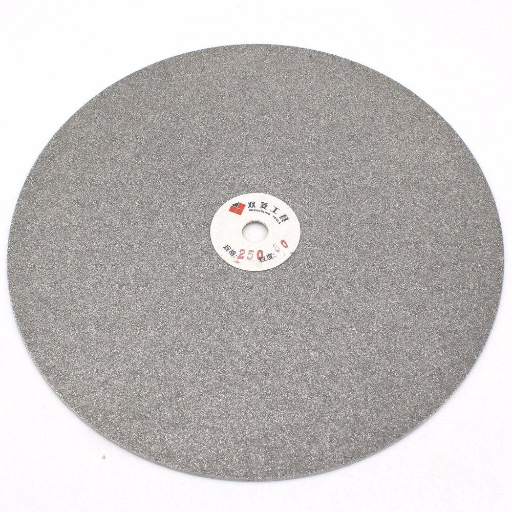 10 inch 250 mm Grit 60-1200 Diamond Grinding Disc Abrasive Wheel Coated Flat Lap Disk Jewelry Tools for Glass Gemstone Ceramics imperforate 8 inch diamond grinding disc coated flat lap disk jewelry tools ilovetool
