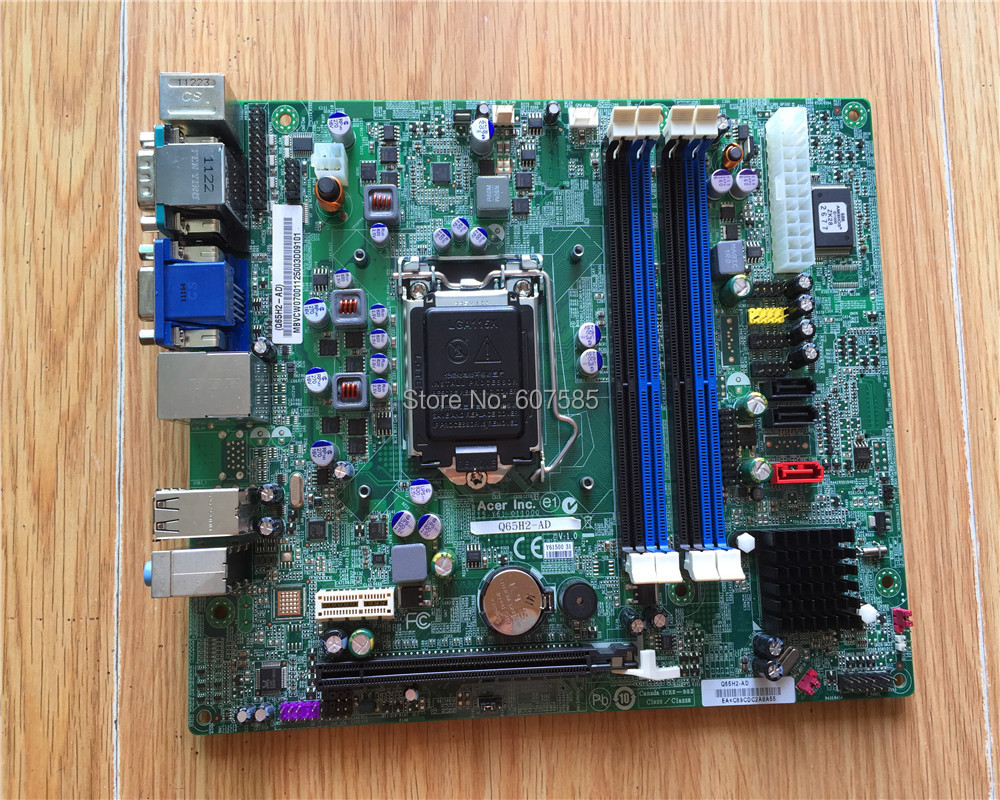 For ACER Q65H2-AD motherboard LGA1155 DDR2 H67 100% tested