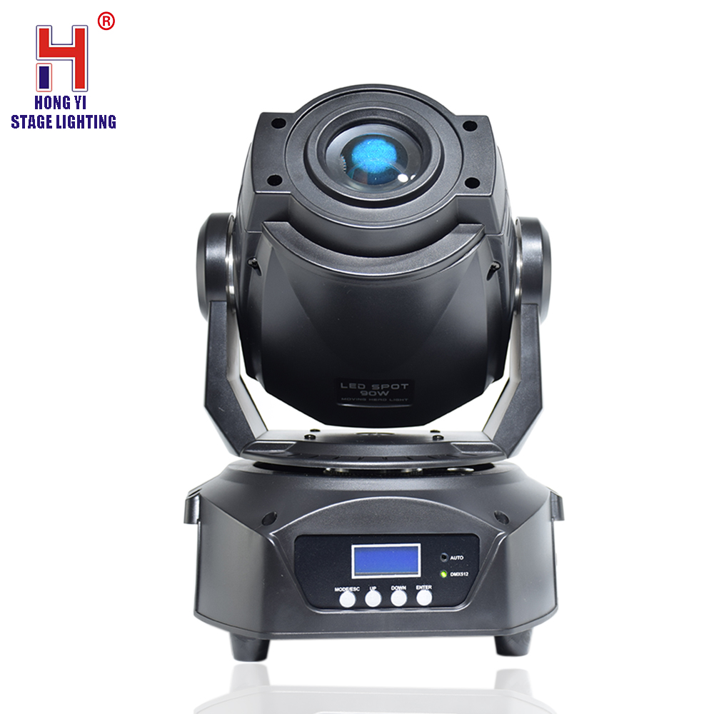 LED 90W Gobo Projector Moving Head Spot Light Professional Stage Lighting