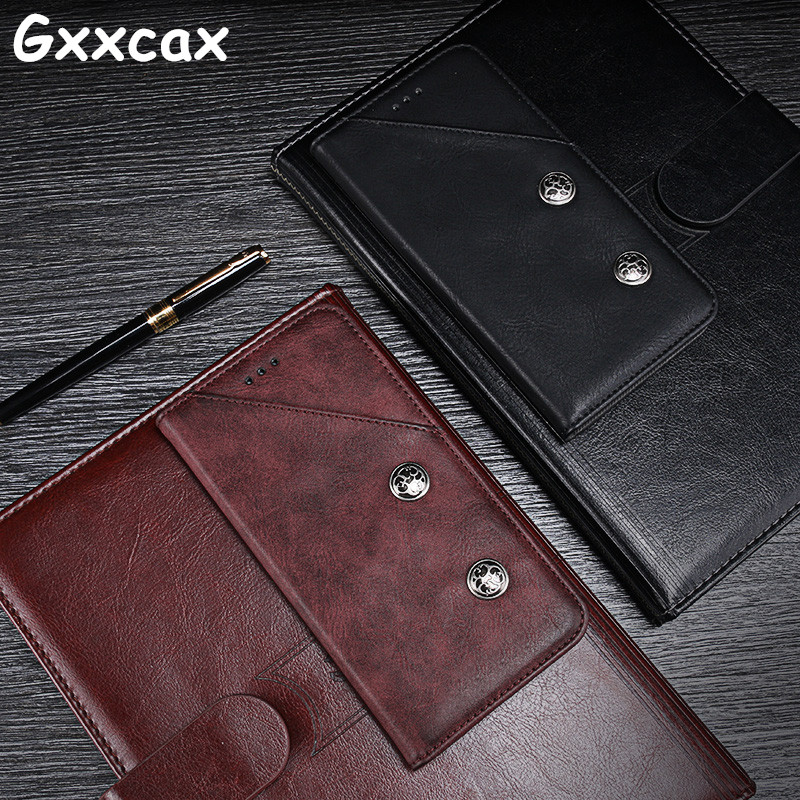 For Elephone S8 Case 6.0 inch Vintage Luxury Flip Leather Wallet Case For Elephone S8 Stand With Mobile Phone Bag Cover