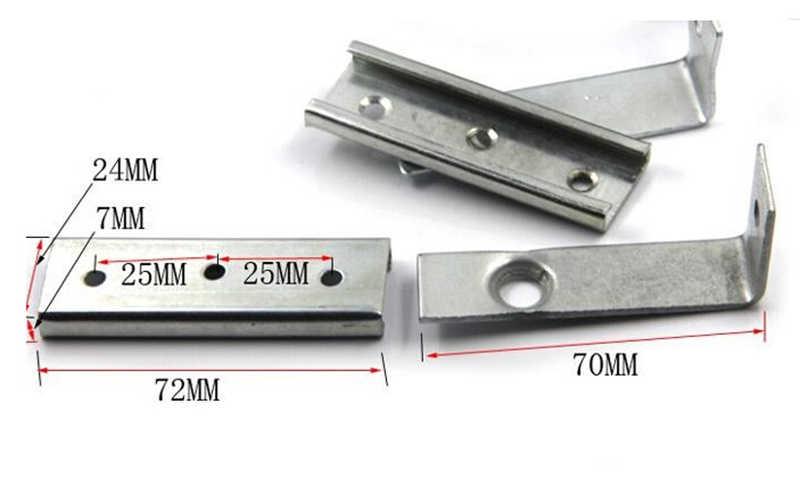 גלגלת דלתות שקופיות חומרה, דלתות זזים תליית גלגל רכבת, גודל קטן, 1 סטים/, לדלת אחת/30*30 רכבת תלויה HM50