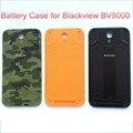 Original blackview bv5000 bateria case com irradiando filme substituição da tampa da bateria de proteção ultra slim para blackview bv5000