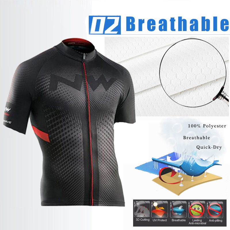 HTB1ZH2uQW6qK1RjSZFmq6x0PFXax - Northwave Nw Summer Cycling Jersey Set Breathable MTB Bicycle Cycling Clothing Mountain Bike Wear Clothes Maillot Ropa Ciclismo