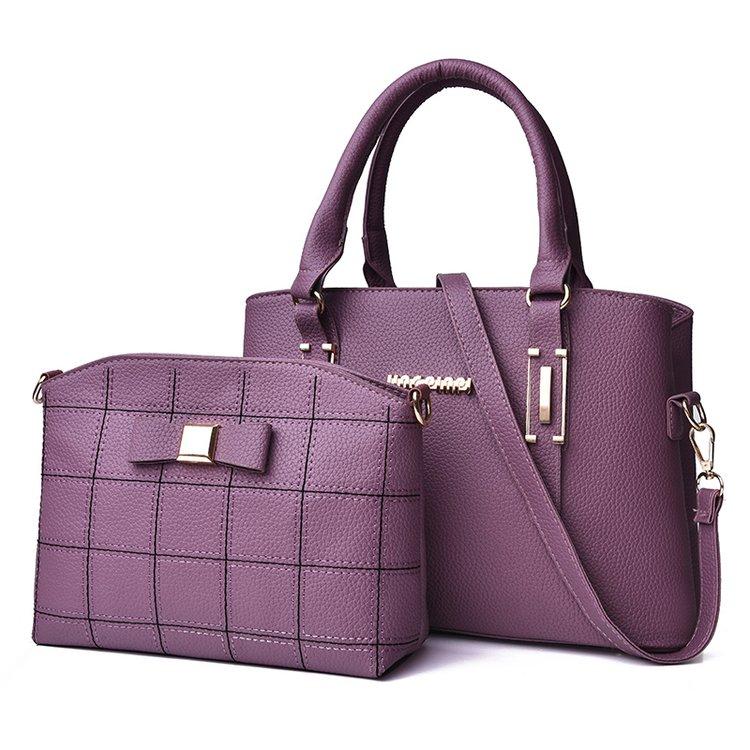 2018 new fashion women's bag two-piece shoulder bag 2