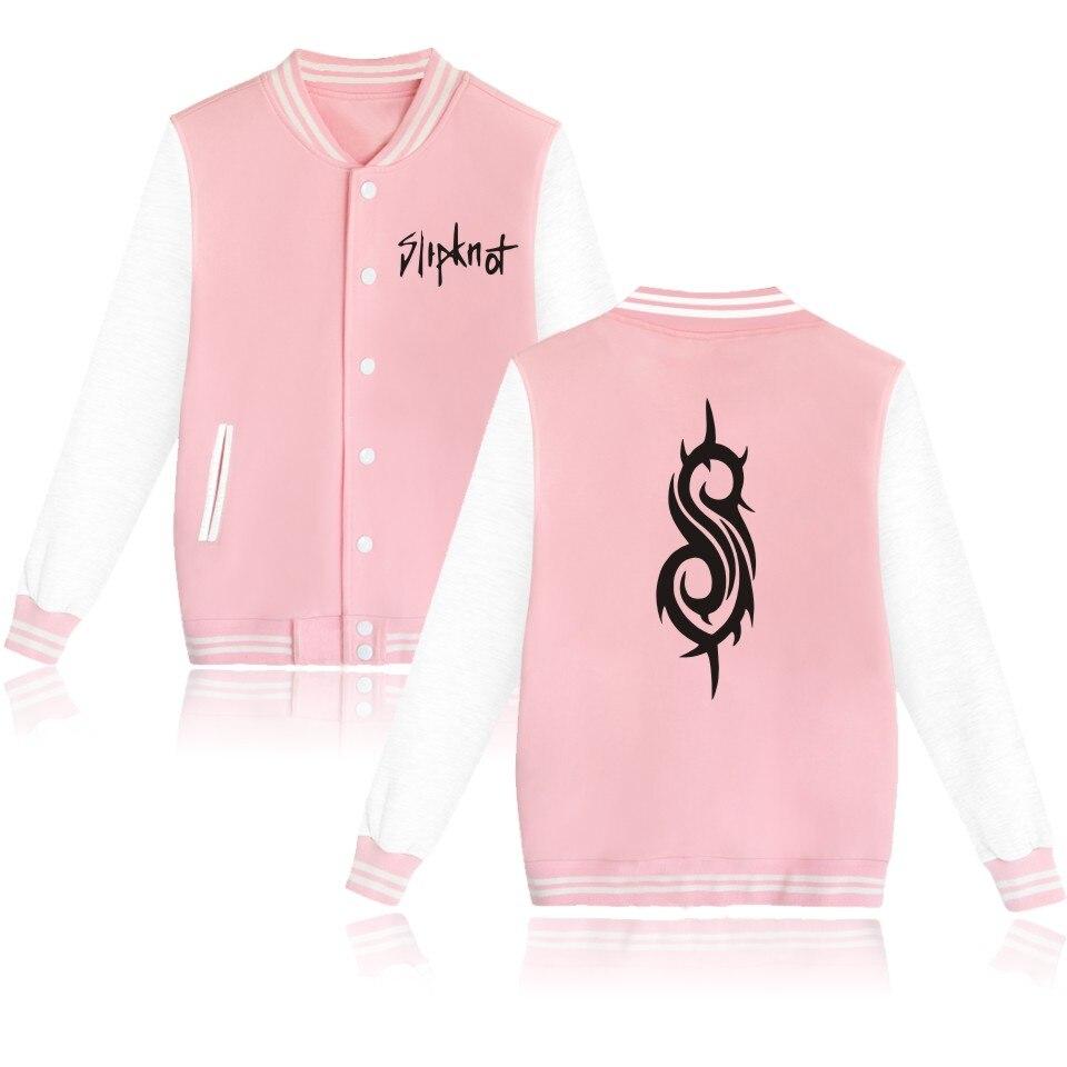 Slipknot Funny 4 Colors Designs Baseball Jacket Men Jacket in Slipknot Coat Men and Women Autumn