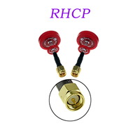 2Pcs EMAX Pagoda II 2 5 8G 50mm 80mm Antenna Red RHCP RC FPV Transmitter Receiver