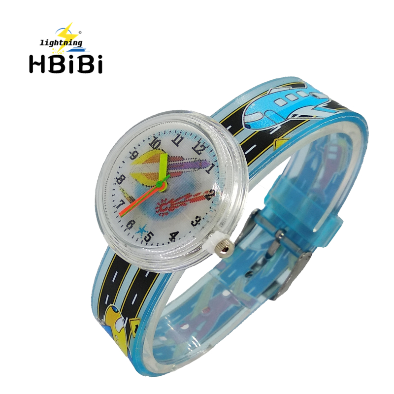 Rocket Satellite Watch Boys Children Sports Quartz Wristwatches Fashion Kids Clock Girls Students Watches Relogio Infantil