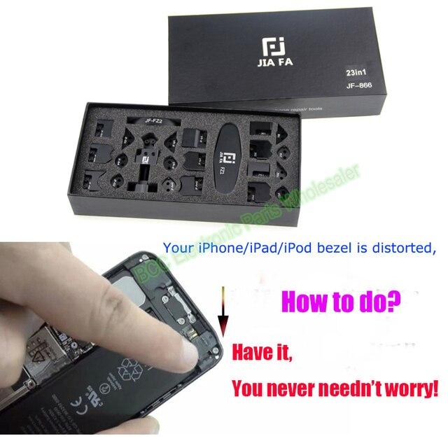 Цзя Fa JF-866 23 в 1 Изгиб Края угол боковины Рамка Рамка fix Repair tool для ip6 6 + 5/5S для ipad 2 3 4 mini 1 2 air iPod 4-го