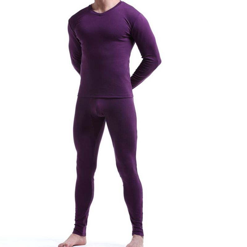 winter Warm men Long Johns man underwear set thickening heating Youth cold suit men's wind proof bottoming trousers and shirts