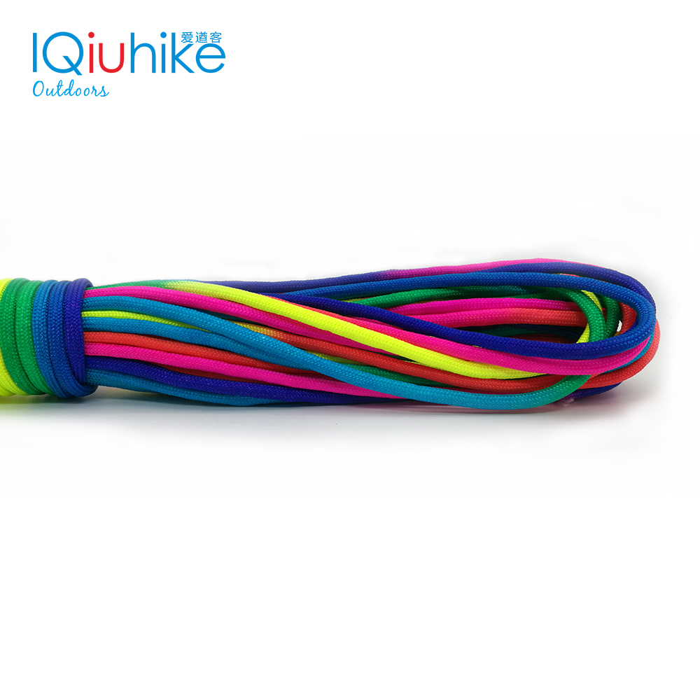 5 Meters Colorful Paracord 550 Parachute Cord Lanyard Rope Mil Spec Type III 7 Strand Climbing Camping Survival Equipment5 Meters Colorful Paracord 550 Parachute Cord Lanyard Rope Mil Spec Type III 7 Strand Climbing Camping Survival Equipment