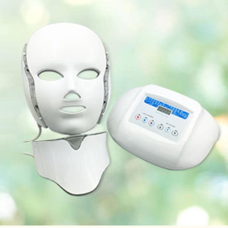 Wholesale Electric LED Facial Mask Skin PDT Skin Rejuvenation Light Photon Beauty Salon Anti Acne Wrinkle Removal Therapy